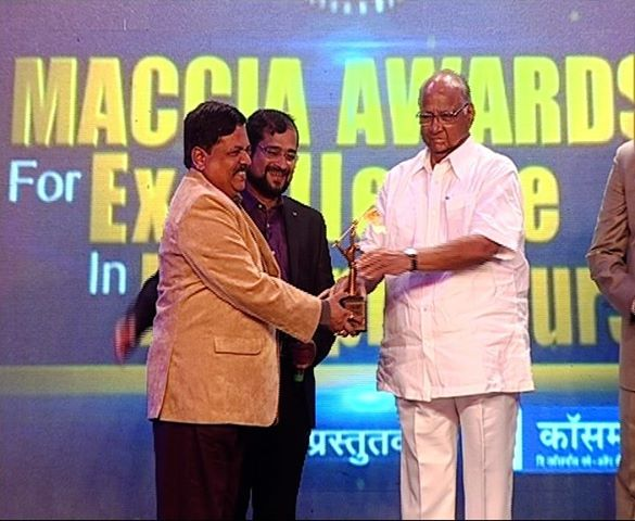 sarad pawar awarding lic of india