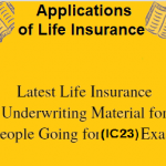 Applications of Life Insurance (IC23)